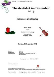 Theatergemeinde Esting 2015 12 14