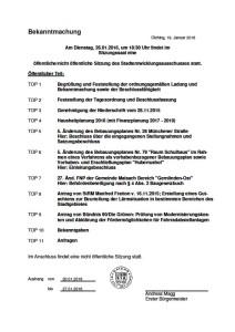 Stadtentwicklungsausschuss