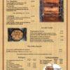 Speisenkarte Seite 2