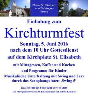 Kirchturmfest