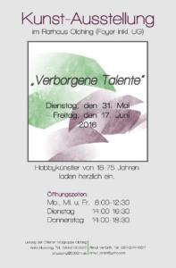 Plakat Verborgene Talente