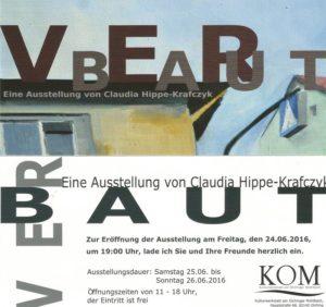 Plakat Verbaut