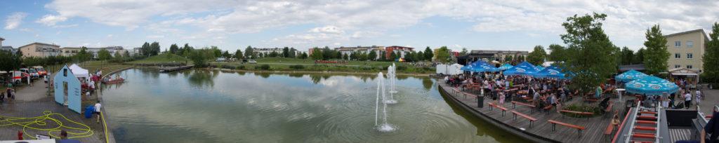 Schwaigfeldfest 2016 Panorama