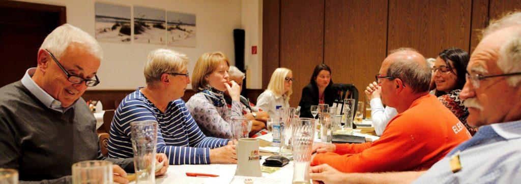Ein offenes Ohr für Olchinger Anliegen zeigte Landratskandidatin Sandra Meissner beim FWO-Monatstreffen.
